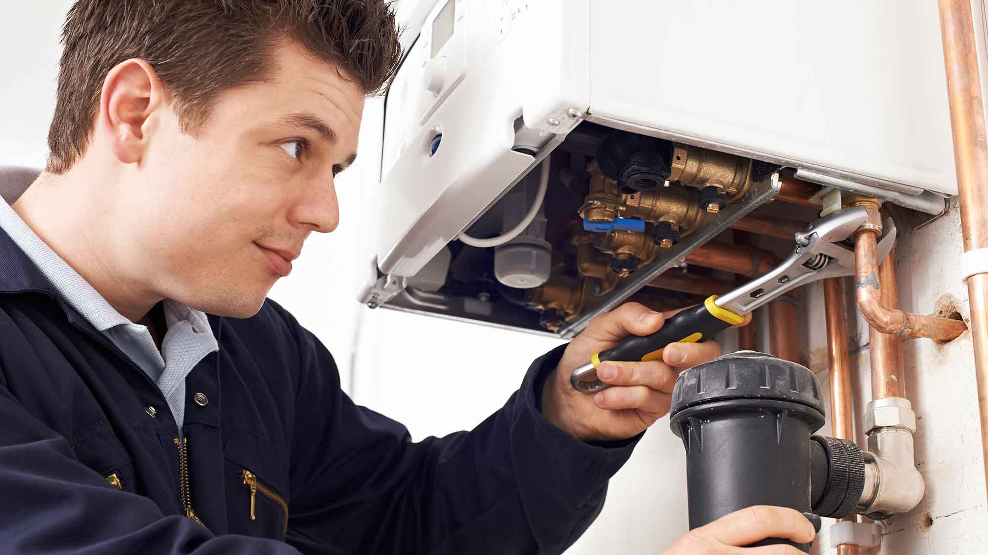 boiler servicing essex maintenance leigh on sea underneath