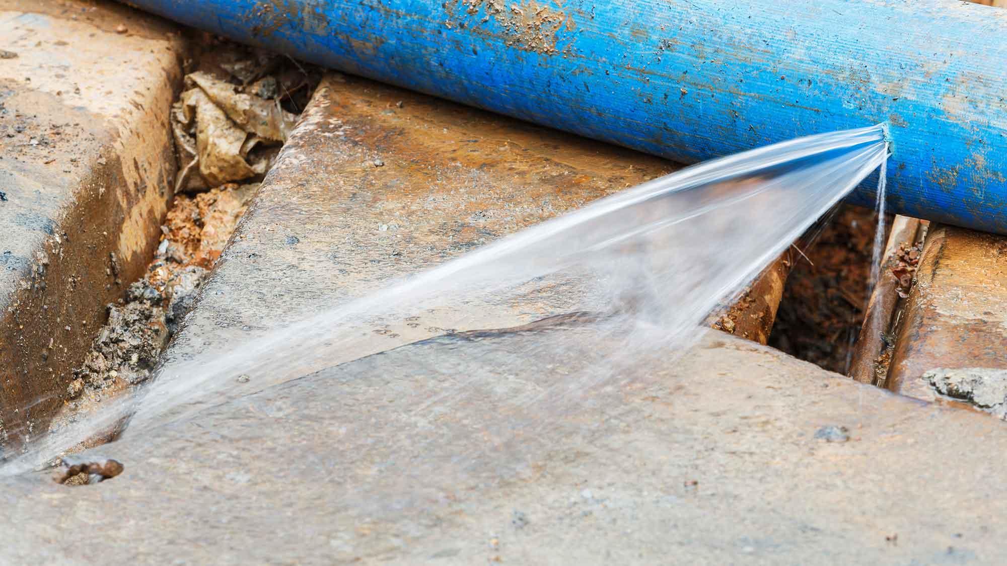 burst pipe repair essex maintenance leigh on sea tube