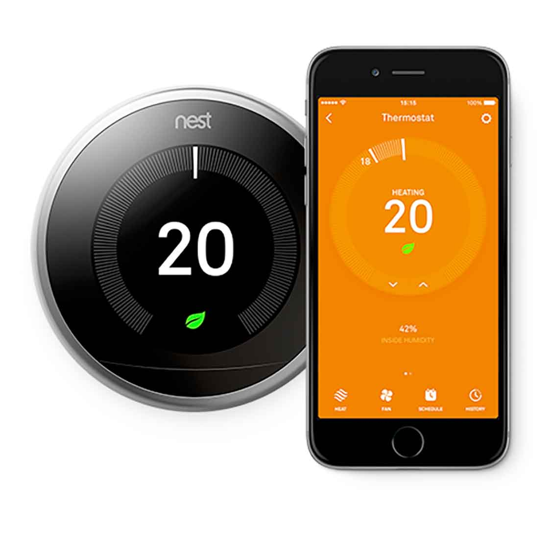 smart thermostat installation essex maintenance leigh on sea nest